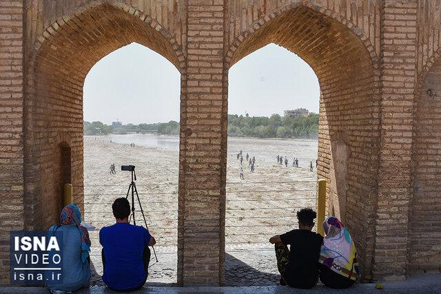 ویدئو / آب زایندهرود در گذر از نصف جهان