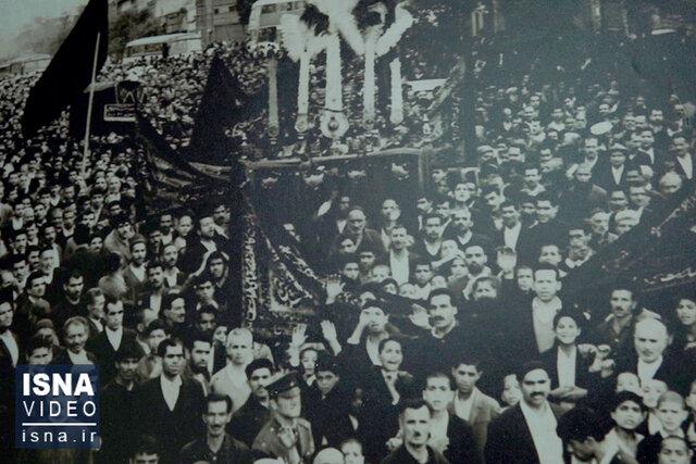 ویدئو / تاریخ، روی دوش عزاداران حسینی